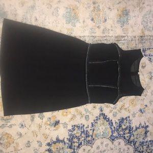 A Beautiful size small black short dress